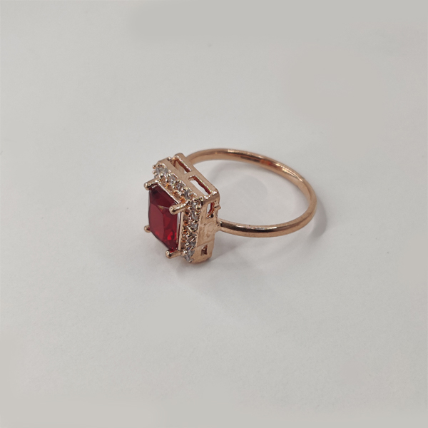 Red Wine Colored AD Stone Combo