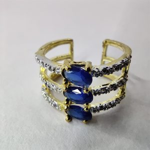 Ring Blue color (AD)