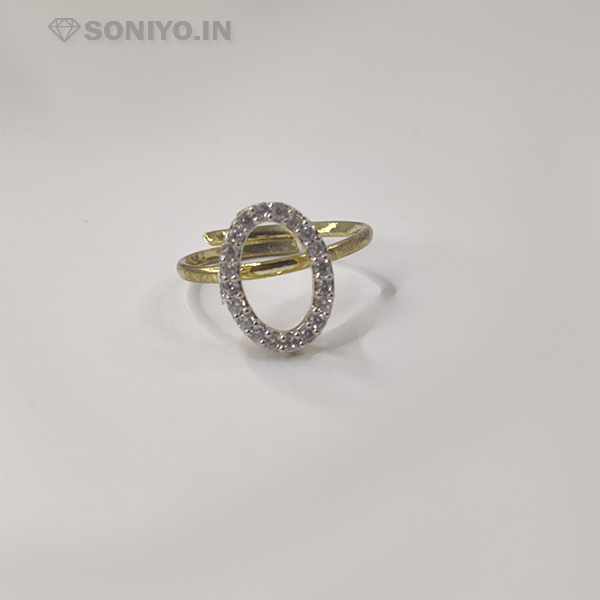 Golden and Silver Oval Shaped Combo