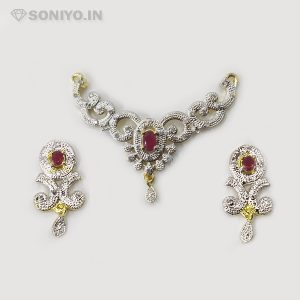 Silver Mangalsutra with Curvy design
