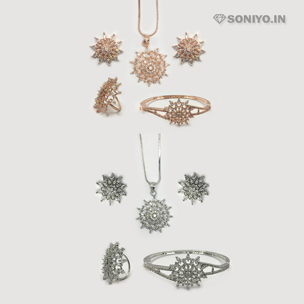 Four in one Flower Design Combo Set - AD